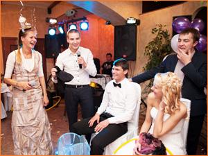 Двое ведущих на свадьбе в Красноярске