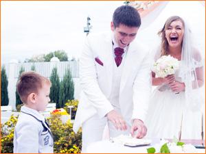 Веселая и классная свадьба