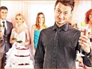 Ведущий на свадьбе веселый