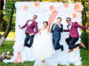 Веселая свадьба с интересным ведущим