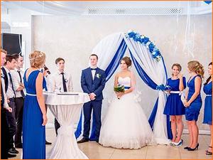 Оформление зала для проведения свадьбы
