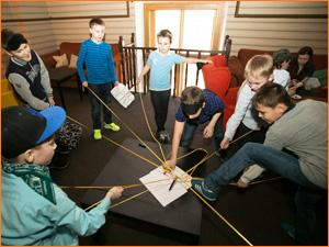 Детский квест Форт Боярд для детей