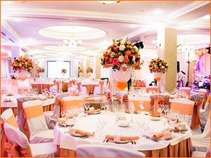 Оформление свадьбы в розовом и нежном цвете