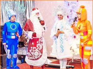 Новогодний праздник Дед мороз и Фиксики