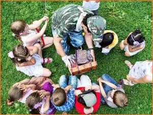 Детские квесты на природе для школьника