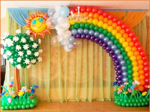 Декорирование и оформление комнаты к празднику