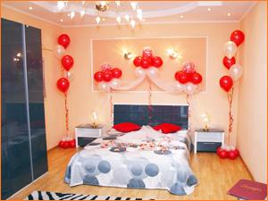 Украшение комнаты на день влюбленных