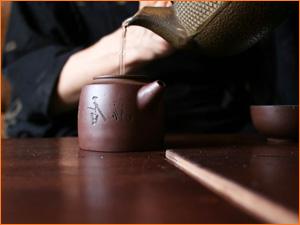 Китайский чайничек для заваривания китайского чая
