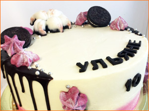 Детский торт на день рождение девочки
