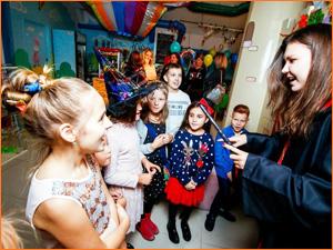 Выездной детский квест Гарри Поттер в кафе на дне рождения ребенка