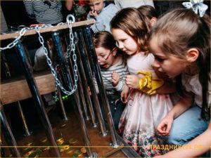 Дети участвуют в интересном конкурсе