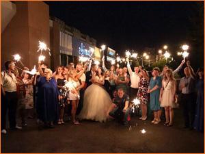 Свадьба в Красноярске под ключ фото на улице