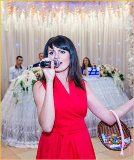 Инна ведущая на свадьбу в Красноярске