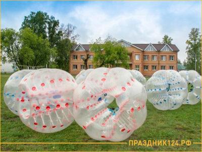 Воздушные большие шары для корпоратива