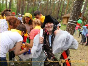 Пират на корпоративном празднике