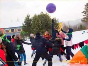 Корпоративный отдых зимой на лыжной базе