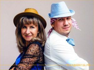 Ведущий Елена Сухих и Евгений